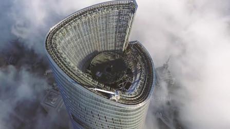 上海中心大厦,遇大风后摆动幅度近一米,为何从不担心它会倒塌