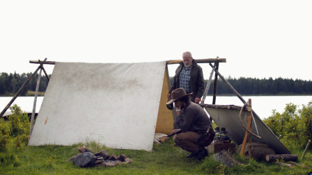 带着父亲野外露营,这样的生活真让人羡慕,一场说走就走的旅行