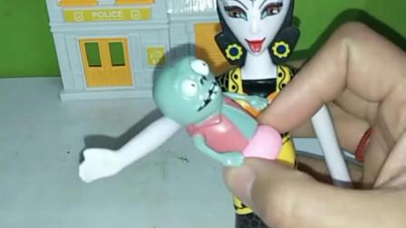 育儿亲子游戏玩具:巨人僵尸真的冤枉植物了吗