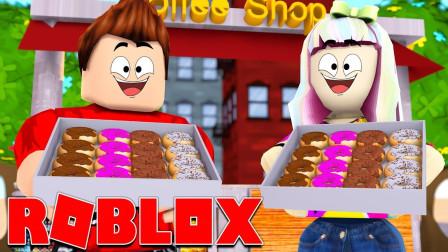 Roblox甜甜圈大亨!制造自己的甜品工厂!成为土豪?面面解说