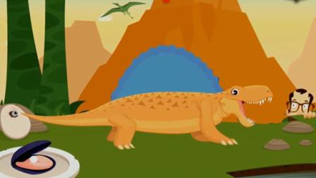 考古学家沙漠挖掘 恐龙世界大发现 恐龙骨骼化石的发掘 失落的文明 陌上千雨解说