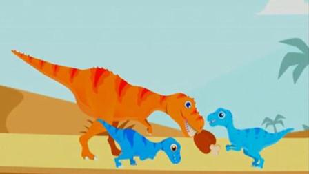 恐龙岛 霸王龙世界大冒险 勇闯恐龙岛 恐龙宝贝大探险 陌上千雨解说