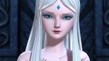 孩子爱看动画片精灵梦叶罗丽 :冰公主拿到了曼多拉的玉如意,这下曼多拉麻烦了
