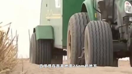 中国发明吞沙巨兽, 1天改变40亩沙漠地质, 现已投入使用
