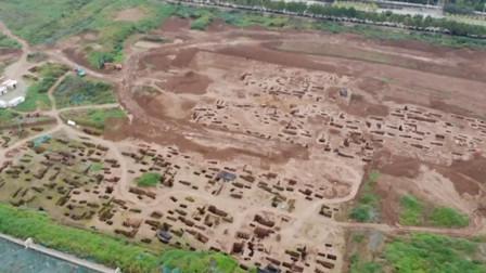 密密麻麻!西安宜家一在建工地挖出古墓群