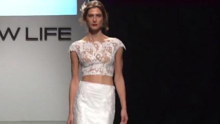 婚纱时装秀:独特的婚纱款式,不是谁都能挑战的!