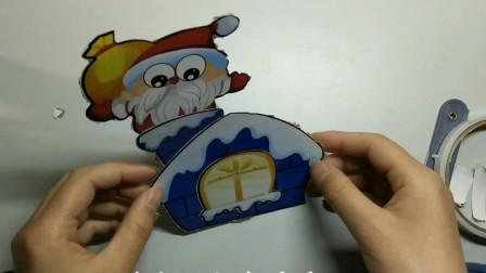 手工作品,圣诞老人,圣诞节送礼物的老爷爷呦