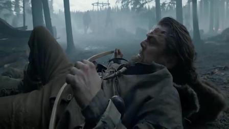 荒野猎人:部落战争爆发,猛男为掩护儿子逃离,以一敌百!