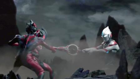 奥特银河格斗新生代英雄 第2话 欧布奥特曼大战黑暗艾克斯和黑暗捷德!