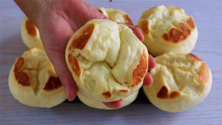 面粉别只是烙饼,教你独特的做法,蓬松柔软,比面包还好吃