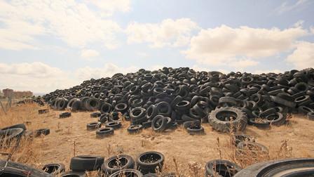 """非洲大量收购中国废弃""""轮胎"""",背后有什么用意?真相让人心酸!"""