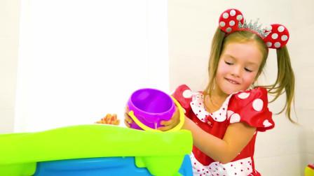 萌娃乐园 萌娃和爸爸一起开心的做游戏