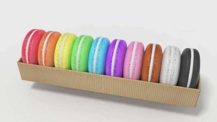 一起来认识各种颜色的马卡龙甜点
