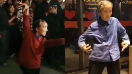 7旬老太街头跳舞不输女团 网友直呼:奶奶可以原地出道了