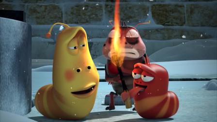 爆笑虫子:黄虫套面包圈放毒气轧红虫,自私到无语