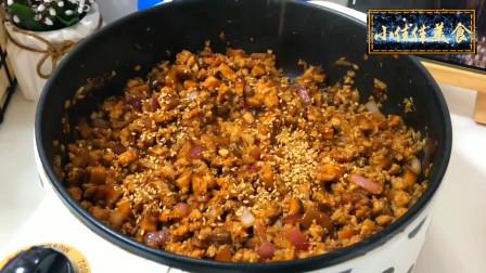 美食分享,自制香菇肉酱,好吃下饭,家庭常备