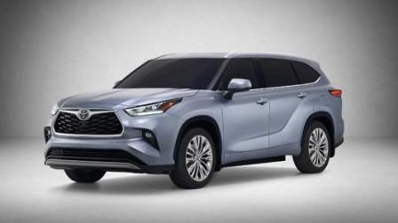 日系7座SUV再爆福音, 新一代丰田汉兰达油耗才6.9升, 匹配8速变速箱内饰奢华硬派气息十足!