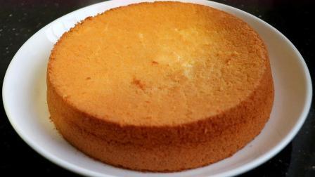 想吃蛋糕在家也能做,这种做法简单又好吃,像海绵一样细腻又松软