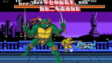 激龟快打:国内顶级二龟遭遇强敌,四龟用好了真是无敌