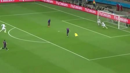 足球:罗本的这次单刀破门,速度达到了的37Km