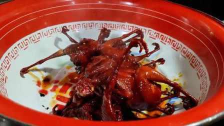老南昌风味槟榔鹌鹑:甜脆中带着槟榔味