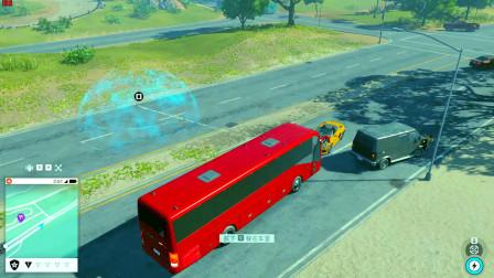 驾驶敞篷法拉利直接撞上大巴车,这么简单就拦截