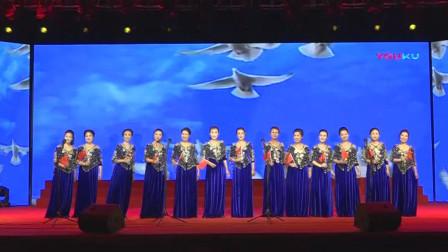 """8 女声小组唱《我和我的祖国》【江西欣海艺术团 、走进江铃集团""""文艺演出】"""