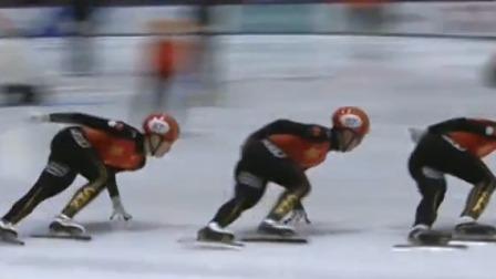 新闻直播间 2019 中国短道速滑队直通国际比赛选拔赛 短道队竞争激烈 韩天宇强势复出