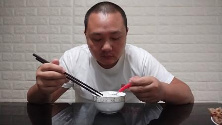 中国吃播vlog1010:手抓饼下稀饭