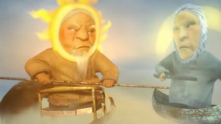 动漫:如果太阳变成老大爷,月亮变成老大妈,那么星星会变成什么