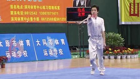 2005年第十届全运会男子武术套路预赛 男子枪术 008 刘洋(北京)