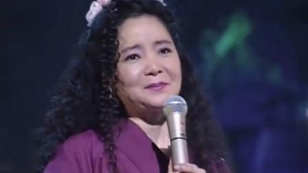 94年邓丽君日本演唱会,日语翻唱《花心》好听极了,太经典了
