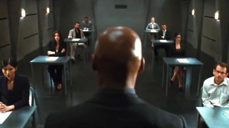 来自不同国家的8位应聘者参加一场极具烧脑的《终极面试》