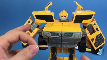 迷你特工队开箱玩具 迷你特工队变形机甲展示麦克斯贴纸