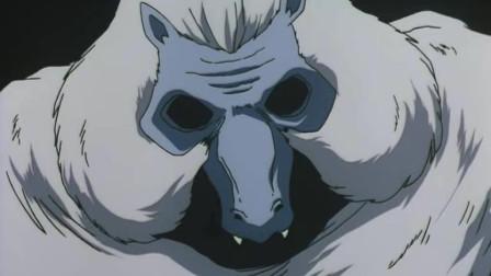 犬夜叉:奈落真卑鄙,使用妖术让大家看到最怕的记忆,只有戈薇没事!