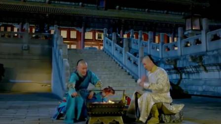 韦小宝带着皇上一起吃烤鸡,胆子也太大了,官员们看懵了