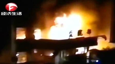 涡阳店集镇卫生院火灾, 一病人和四名陪护人员死亡