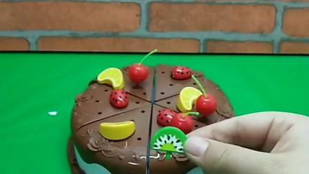 益智小游戏:做巧克力蛋糕