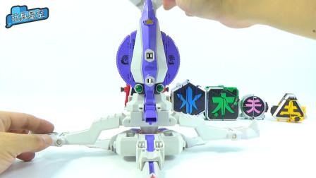 变形金刚宝宝手工拼装机器侠趣味旋转玩具