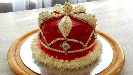 【Sweet Beauty】皇冠蛋糕   KROWN FOR KING CAKE