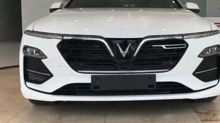 越南高颜值中型轿车VinFastLuxA2.0,真霸气!