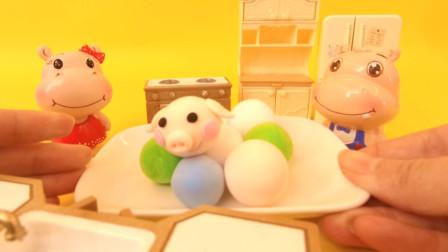 多乐超萌粘土秀 元宵节吃汤圆的由来