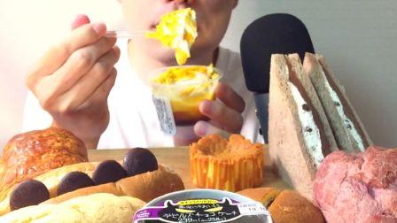 ☆ Yumaゆま ☆ 10月第二周711+罗森+全家便利店的新品甜点(菜单见简介)吃播咀嚼音(新)