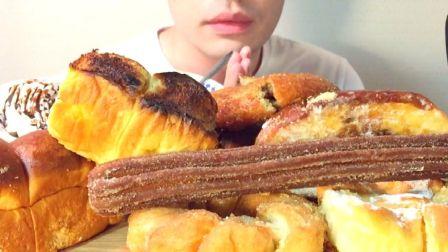 ☆ Yumaゆま ☆ 奶油巧克力酱配A-1 Bakery的花式面包(种类见简介) 食音咀嚼音(新)