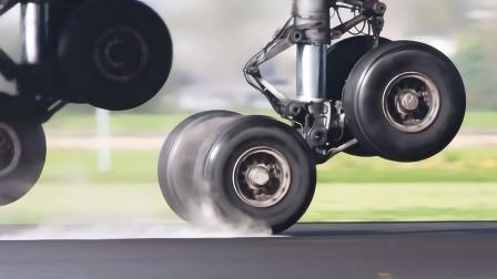 飞机降落是靠轮子刹住的吗,为什么要盘旋一周?今天算长见识了