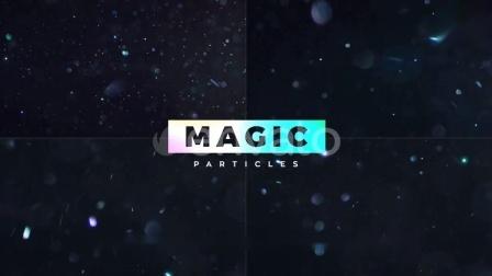 10组漂亮精美魔法粒子光斑动画视频素材