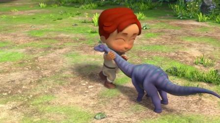 帮帮龙恐龙探险队队员大集合!