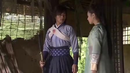 浣花洗剑录:珠儿在庙里遇到大藏,珠儿不知他身份给他包扎疗伤