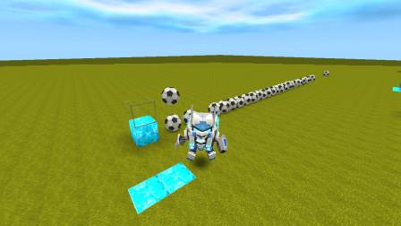 侠客解说迷你世界:全自动投球器制作教程 队形排好不要乱跑哦