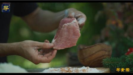 网红大厨教你做猪扒,两面金黄香脆可口,吃肉还是这样爽